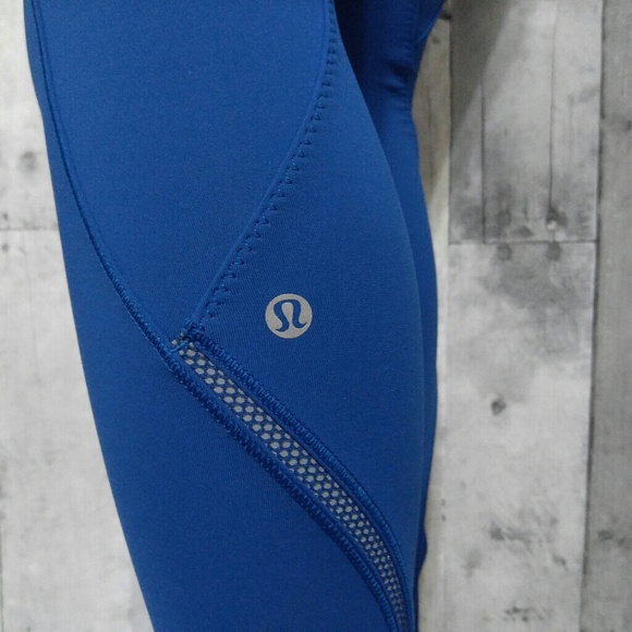 41% off lululemon athletica Pants - Lululemon Cadence Crusher Tights dark royal blue from Holly ...