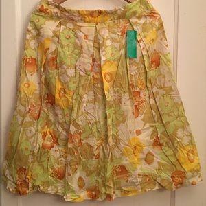 Benetton floral skirt size 46 (12)