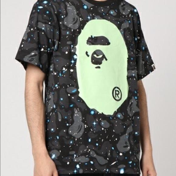 40762b24 A Bathing Ape, BAPE Shirts | A Bathing Ape Bape Space Camo Big Head ...