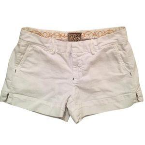 Rich & Skinny Pants - Rich & Skinny White Denim Shorts