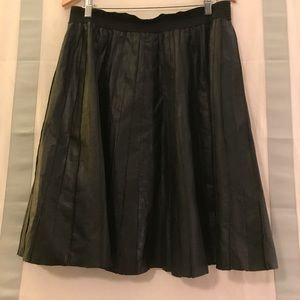 ASOS Dresses & Skirts - ASOS Leather Pleated Skirt. Size 12