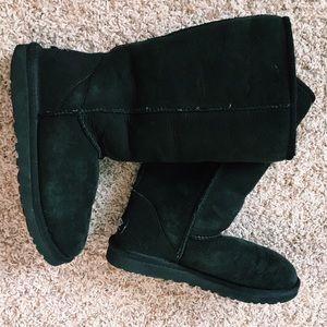 Black UGG Knee High Boots