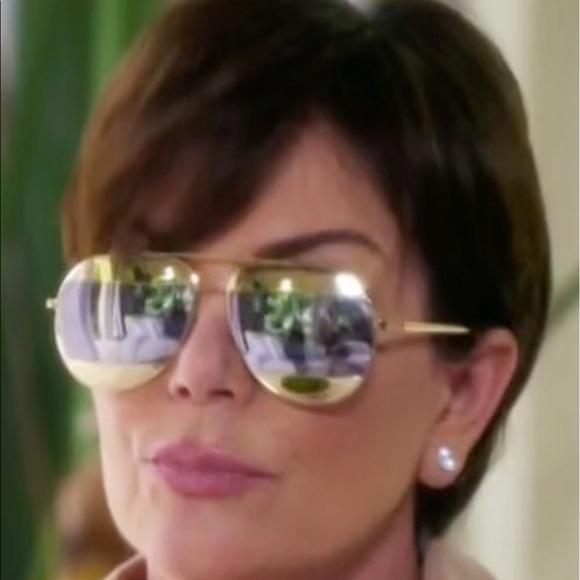 ca026acec1f2 Dior Accessories - Split Dior rose gold silver aviator sunglasses