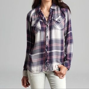 Rails Tops - RAILS 'Kendra' Plaid Button Down Shirt