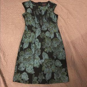 Robbie Bee Floral Print Dress