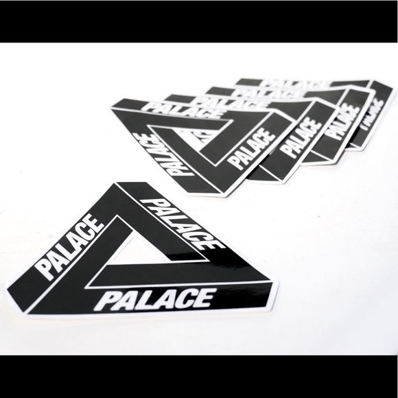 c974bea020ec 5 Stickers Palace Skateboards - Black Clear