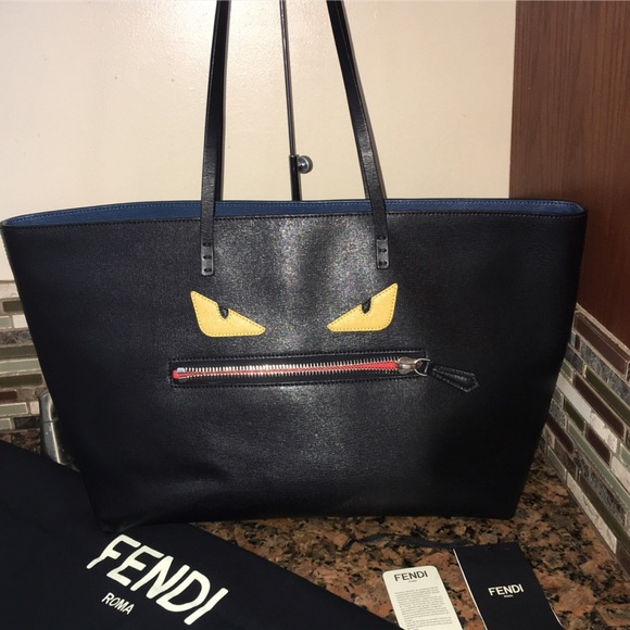 32335a938ef1 Fendi Bags - Fendi monster tote👹. Fendi Handbags - Fendi monster tote👹