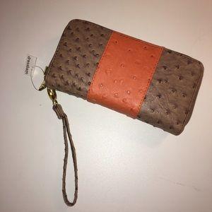 Dress Barn Handbags - Large Intricate Wristlet Wallet