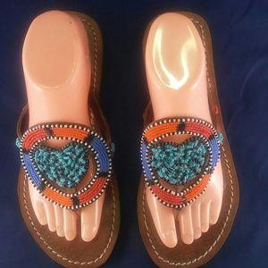 Shoes - Maasai Beaded Sandals