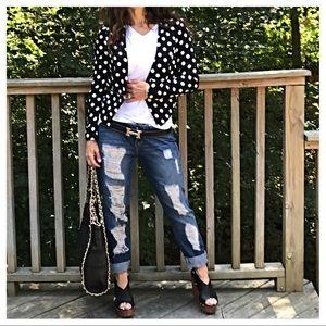 Jackets & Blazers - 🆕 fabulous polka dot jacket