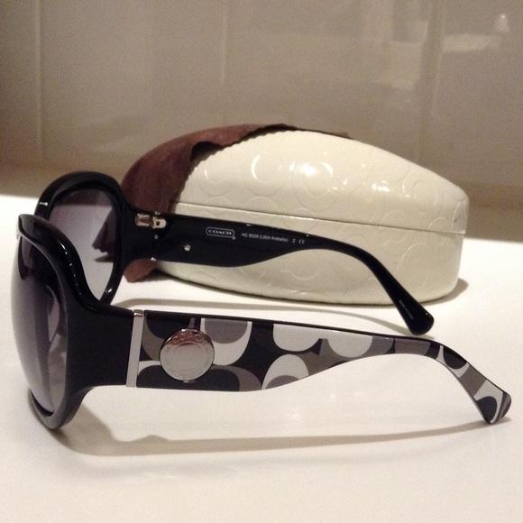 9bac675cdfb0e Coach Accessories - Coach Arabella Black Sunglasses