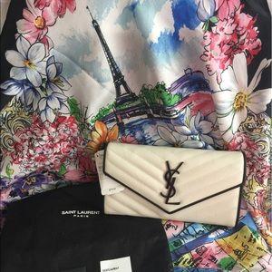 Yves Saint Laurent Handbags - YSL Beautiful Monogramme Wallet