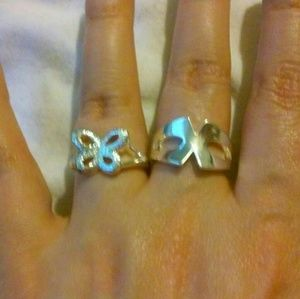 Jewelry - 2 Sterling Silver Rings