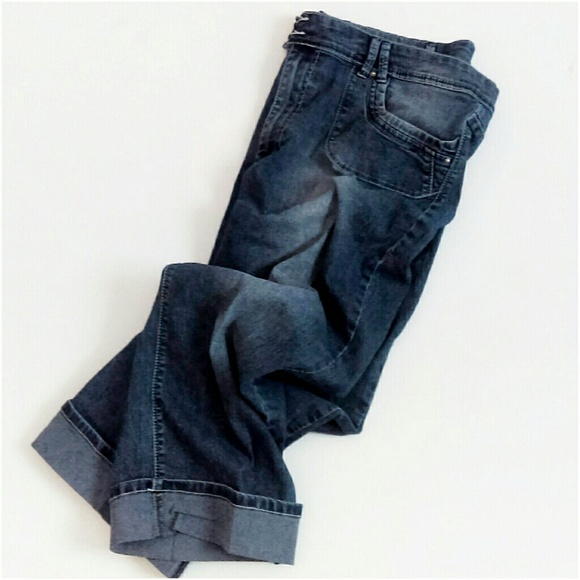Angels Jeans - ⬇Plus Size Cute Jean Capri's Pant