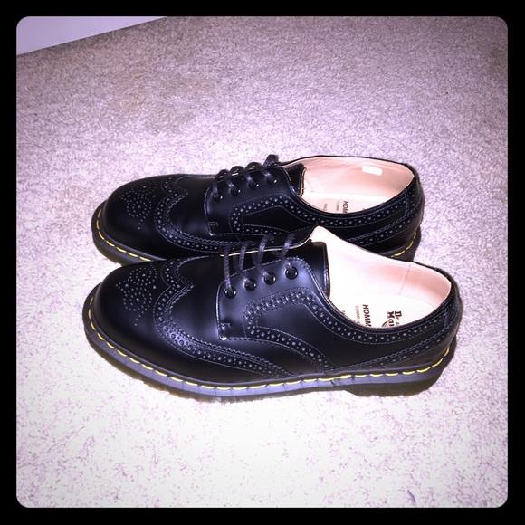 san francisco 13a44 37dbd Comme des Garçons x Dr. Martens Mens Derby Shoes