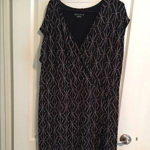 Ava & Viv Dresses & Skirts - SALE!Sleeveless black and cream dress Ava & Viv 2x