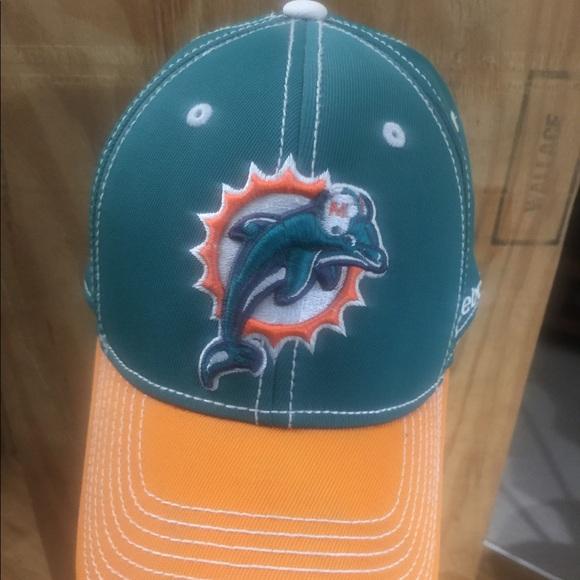 28a786f571100c Reebok Accessories   Miami Dolphins Baseball Cap   Poshmark
