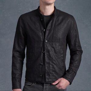 John Varvatos Other - John Varvatos 100% Linen Sport Coat Black Sheen XL