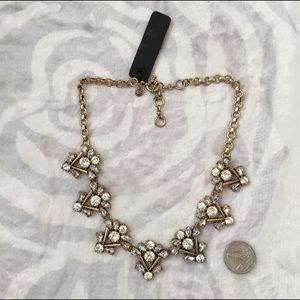 Jcrew crystal statement necklace