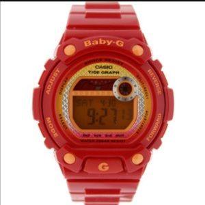 G-Shock Accessories - G-shock BABY G cascio sport watch