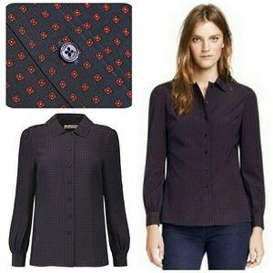 Tory Burch Tops - EUC Tory burch Angelique silk blouse
