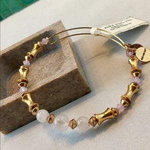 Alex And Ani Jewelry - NWT beautiful Alex and Ani Rose Quartz bracelet