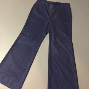 [Old Navy] Wide Leg Navy Blue Summer Slacks