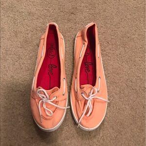 Etcetera Shoes - Coral flats
