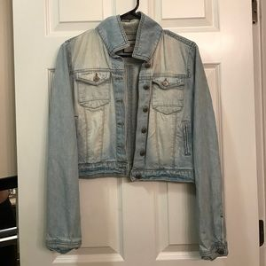 Highway Jeans Jackets & Blazers - Cropped Jean Jacket