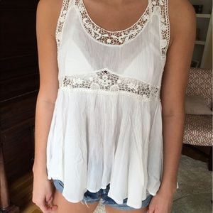 Urban Outfitters white summer tank top