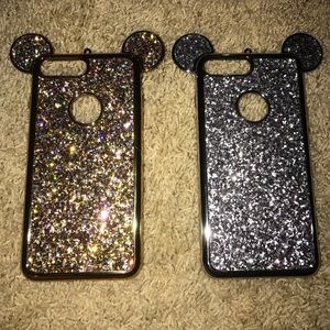iPhone 7 Disney sparkle cases