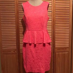 H&M Peach Coral Dress