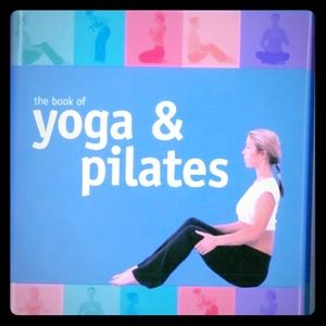 3 for $15...Yoga and Pilates Hardcover Book