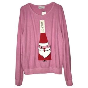 Wildfox Sweaters - WILDFOX Couture Winking Santa Baggy Beach Jumper 47c3bc2ef