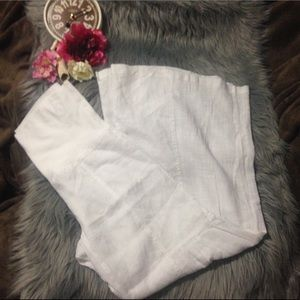 XCVI Pants - XCVI Linen Pants