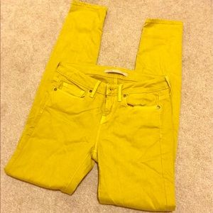 Vince Denim - Mustard yellow Vince jeans size 26 good condition!
