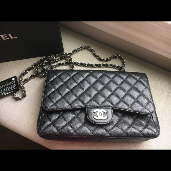 330fc0806b2e CHANEL Handbags - Large 2.55. Chanel Flap bag Caviar Leather bag
