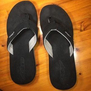 Stars Other - Men's Black Soft Foam Sandals Size 10