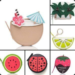 Kate Spade Coin Purse Strawberry Watermelon Lime