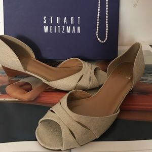 Stuart Weitzman Shoes - Stuart Weizmann Peep 👀 Toe Wedge