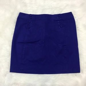 ⛱Gap NWT Women's Cobalt Blue Mini Skirt