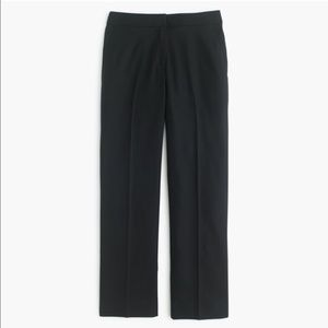 J.crew Patio pant in Super 120s wool, NWT