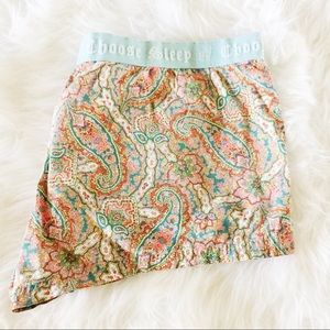 Juicy Couture Other - Juicy Couture Paisley Sleep Shorts