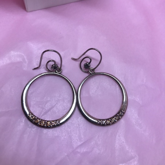 Pandora Hoop Earrings: Pandora Earrings Hoop Silver 925