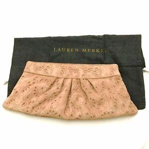 Lauren Merkin Handbags - NWT Lauren Merkin suede clutch