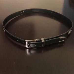 Other - Men's black leather belt size 38
