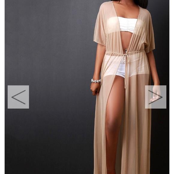 bf1e49f8e6e61 Nude Mesh Maxi Cover Up Dress. M_5943ed96fbf6f97960004f5a