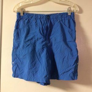 Women's Colombia blue shorts