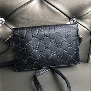 b7f449b7dacc4d Bags   Gucci Icon Gucci Signature Chain Wallet   Poshmark