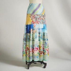 Johnny Was Dresses & Skirts - Johnny Was Mercado Tiered Maxi Skirt Sz L Sundance